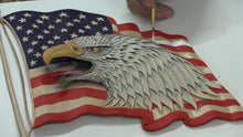 Patriotic Eagle Workshop Video with Jim Linnell