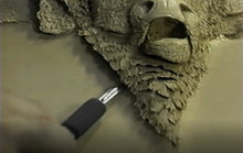 Extreme Embossing: White Buffalo by Robb Barr