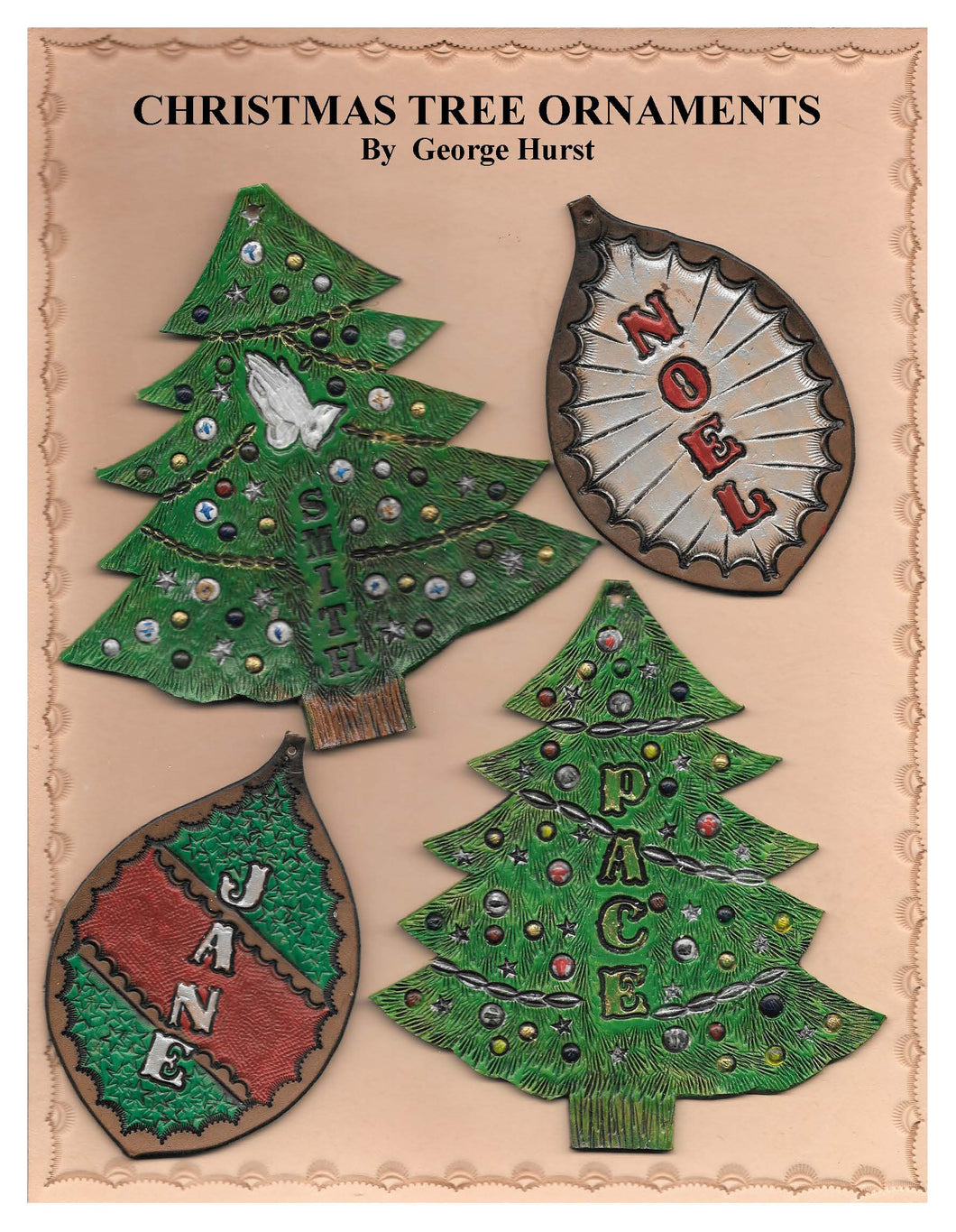 Christmas Tree Ornaments by George Hurst