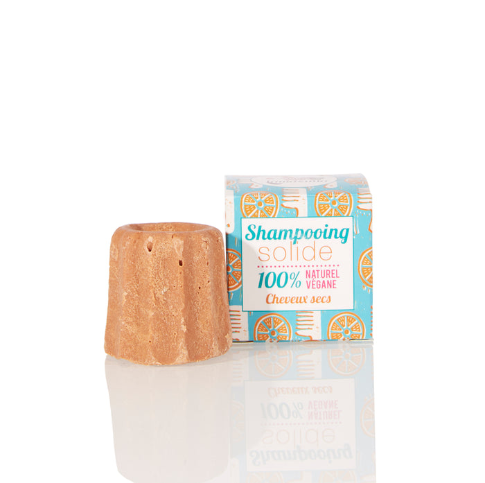 Lamazuna Solid Shampoo - Dry Hair - Orange