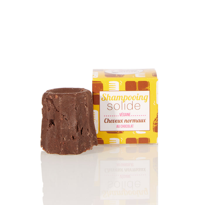 Lamazuna Solid Shampoo - Normal Hair - Chocolat - No essential oils