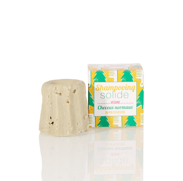 Lamazuna Solid Shampoo - Normal Hair - Pine