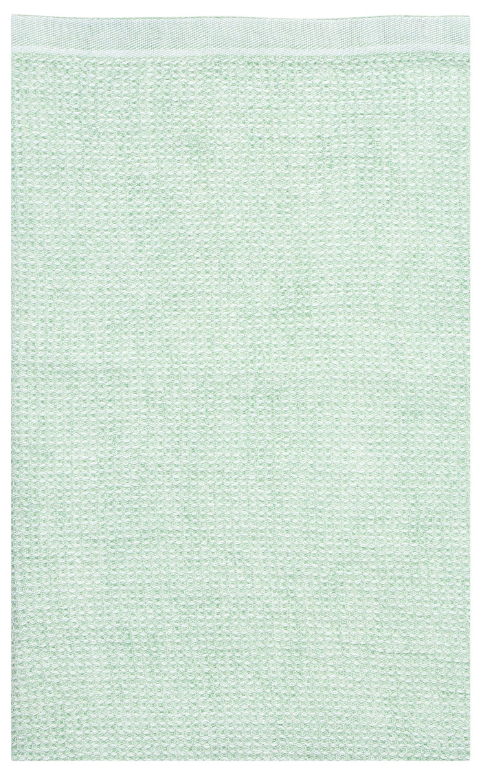 TERVA towel - white & mint - 2 sizes