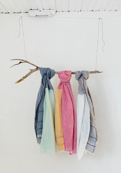 TSAVO linen scarf - 3 colours