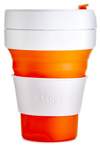 STOJO Pocket Cup - ORANGE