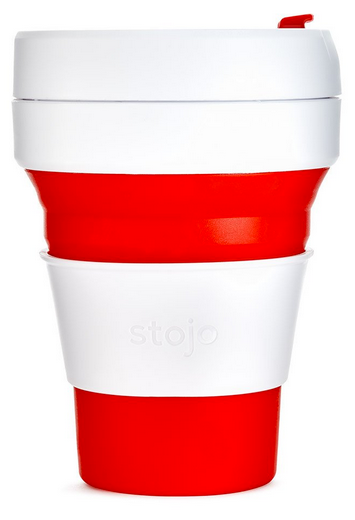 STOJO Pocket Cup - RED