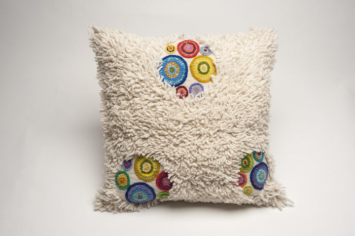 Boho Bubbles Cushion Cover