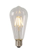 LAMP LED ST64 Filament E27/5W 550LM 2700K Helder
