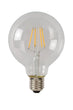 LAMP LED G95 Filament E27/5W 500LM 2700K Helder
