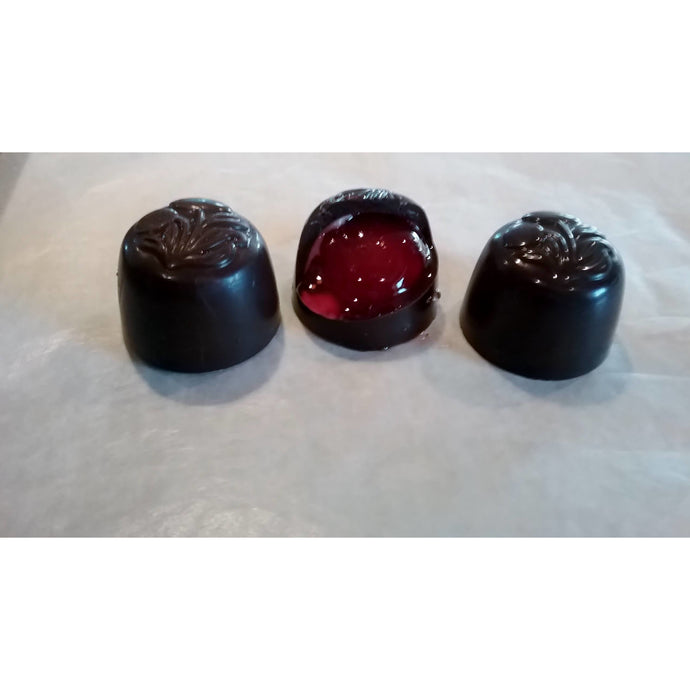 Cordials - Maraschino Cherries in Dark or Milk Chocolate, ALL NATURAL / 15 count