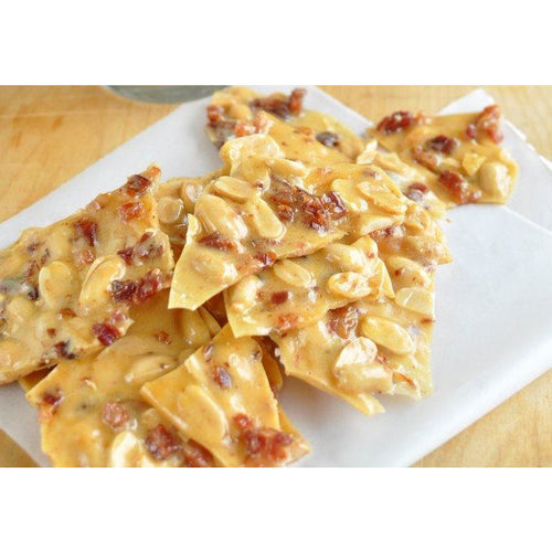 Peanut Brittle, old-fashioned recipe ! Add Bacon !  :)