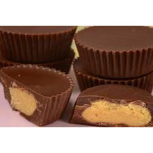 Personalize this box of 24 Peanut butter Cups/ Buckeye with : Miss You, Need You or your own words!