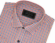 Selects Premium Cotton Check Shirt - Red and Blue Checks (1019) - TheshirtfactoryCheck Casual Wear