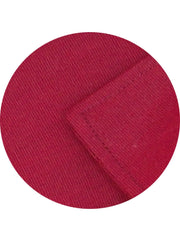 Men's Formal Cotton Blend Plain Shirt - Red (0684) - Theshirtfactory