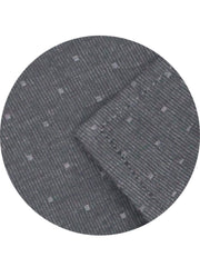 Men's 100% Cotton Dobby Shirt (Best for Suits) - Steel Grey (0598) - Theshirtfactory