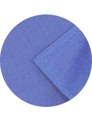 Men's Formal Cotton Blend Plain Shirt - Royal Blue (0179) - Theshirtfactory
