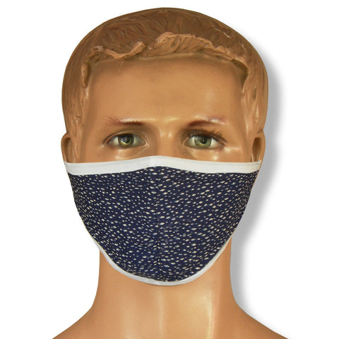 Unisex Assorted Multi Colors Anti Pollution Dust Mask Cotton 2-Layer Mouth Nose Cover Washable Reusable (Pack of 20) - Theshirtfactory