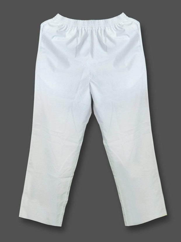 Men's Regular Plain Pyjamas - White (PJMA01) - Theshirtfactory