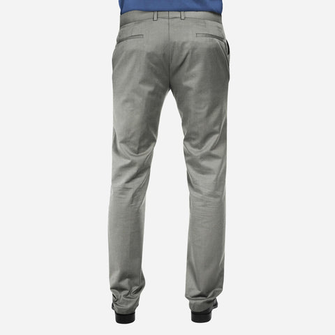 Selects Men's Formal Trouser - Gray Plain (TRO-031) - Theshirtfactory