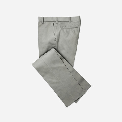 Selects Men's Formal Trouser - Gray Plain (TRO-031) - TheshirtfactoryTrousers Casual Wear