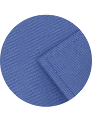 Men's Formal Cotton Blend Plain Shirt - Royal Blue (0011) - Theshirtfactory