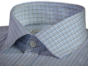 Men's Cotton Check Shirt - Multicolor (0958) - Theshirtfactory