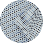 Men's Cotton Check Shirt - Multicolor (0958)