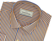 Men's Poly Cotton Check Shirt - Multicolor (0999) - Theshirtfactory
