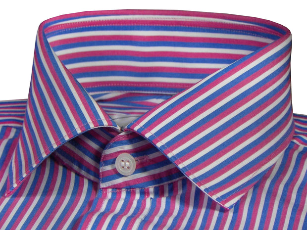 Men's Poly Cotton Check Stripes - Multicolor (1000) - Theshirtfactory