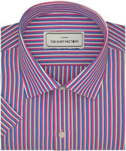 Men's Poly Cotton Check Shirt - Multicolor (1000)