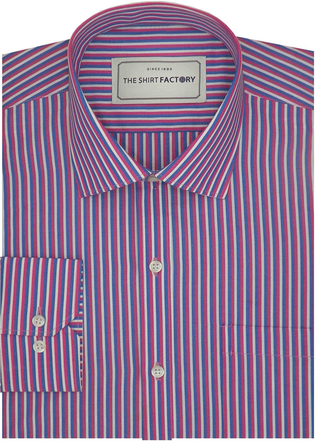 Casual Check Men's Poly Cotton Check Shirt - Multicolor (1000)