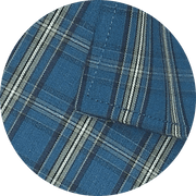 Selects Cotton Check Shirt - Blue (0633) - Theshirtfactory