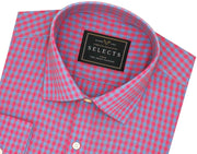 Selects Premium Cotton Check Shirt - Multicolor (0506)