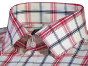 Selects Premium Cotton Twill Check Shirt - Multicolor (0922)