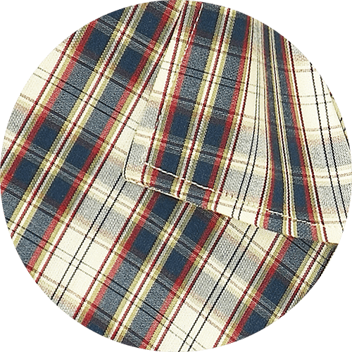 Men's 100% Cotton Check Shirt - Multicolor (0713) - Theshirtfactory