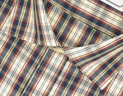 Men's 100% Cotton Check Shirt - Multicolor (0713)