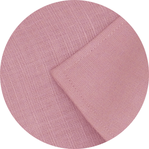 Selects Pure Linen Plain Shirt - Pink (0585) - Theshirtfactory