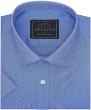Selects Premium Cotton Plain Shirt - Blue (0509) - Theshirtfactory