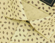 Selects Pure Linen Printed Shirt - Beige (0699) - Theshirtfactory