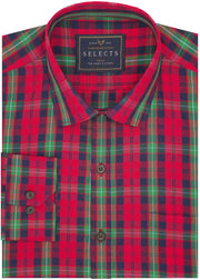 Selects Premium Cotton Check Shirt - Multicolor (0507) - Theshirtfactory