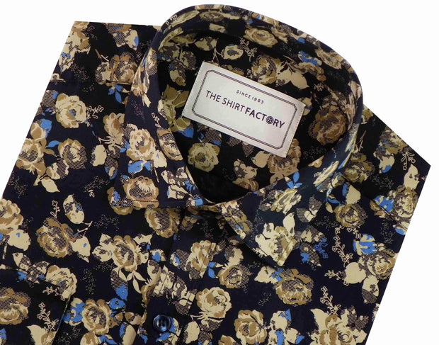 Men's 100% Cotton Printed Shirt - (0327) - Theshirtfactory