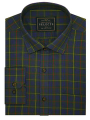 Selects Premium Cotton Check Shirt - Multicolor (0245) - Theshirtfactory