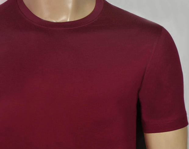 Men's Round Neck Plain Maroon T-Shirt - Theshirtfactory