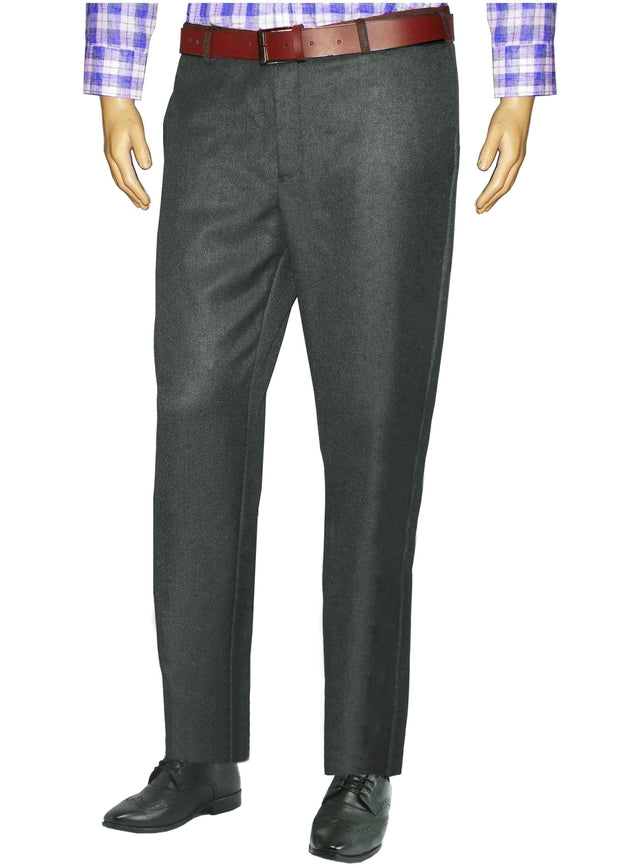 Selects Men's Formal Trouser - Deep Grey (TRO-002) - Theshirtfactory