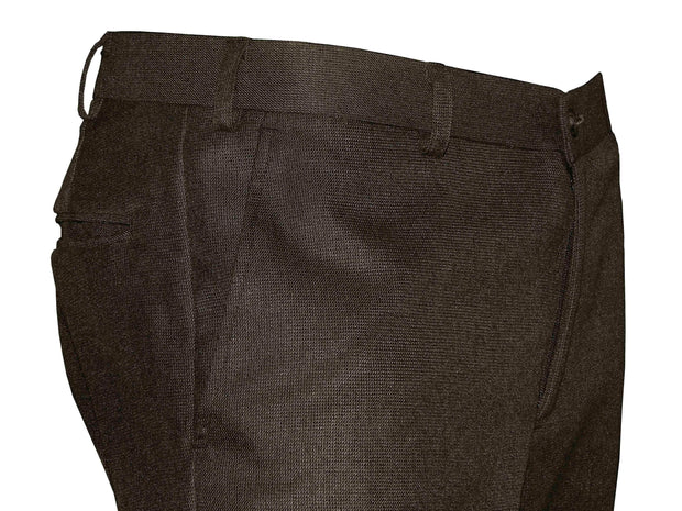 Selects Men's Formal Trouser - Deep Brown (TRO-001) - Theshirtfactory