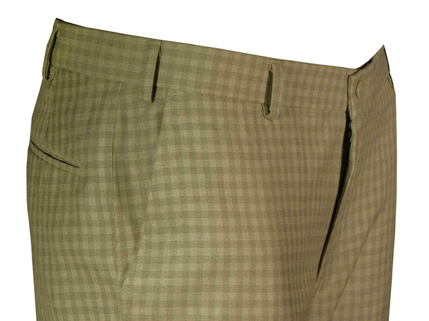 Selects Men's Formal Trouser - Beige Checks (TRO-006) - Theshirtfactory