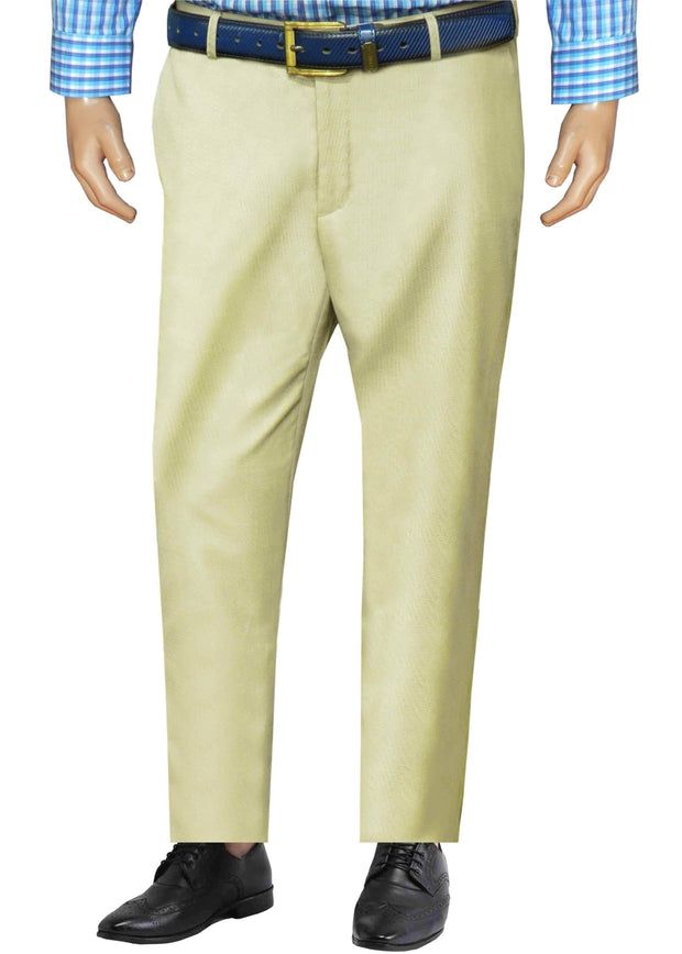 Selects Men's Formal Trouser - Beige (TRO-014) - Theshirtfactory