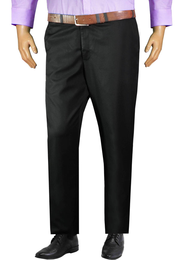 Selects Men's Formal Trouser - Black (TRO-012) - Theshirtfactory