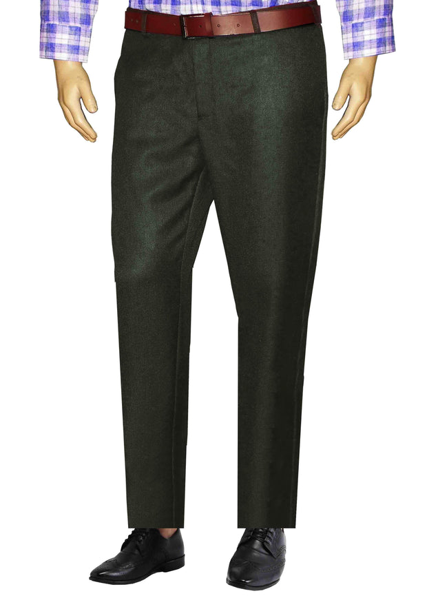 Selects Men's Formal Trouser - Black (TRO-015) - Theshirtfactory