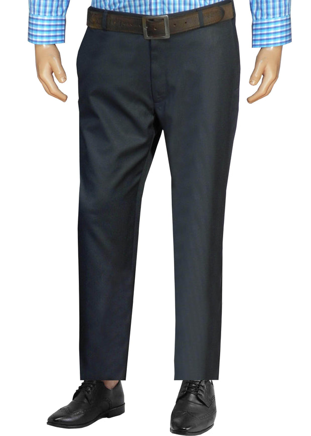 Selects Men's Formal Trouser - Dark Navy Blue (TRO-011) - Theshirtfactory